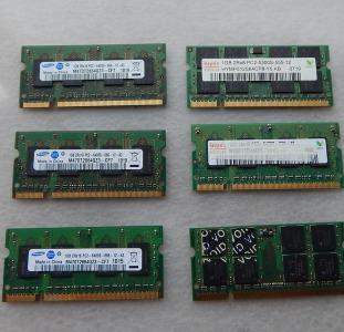Оперативная память DDR2 для ноутбука