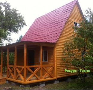 Дачные домики.Для проживания летом и зимой.