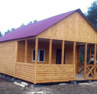 Домики дачные,бытовки для дачи и строительства.