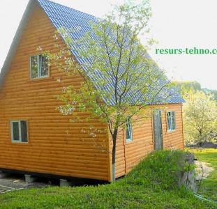 Дома Домики дачные деревянные,бытовки дачные,строительные.