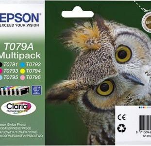 Epson T079 картриджи. Набор новых оригиналов