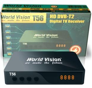 Цифровой эфирный приёмник T-2 World Vision T56