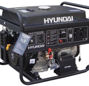 Бензиновые генераторы Hyundai,  электростанции Hyundai,  ремонт Hyundai