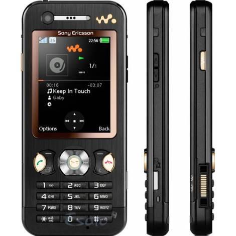 Бизнес Sony Ericsson W890 черный.