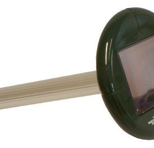 От кротов прибор на солнечных батареях, отпугиватель кротов - ВК-677 - ультразвуковой отпугиватель к