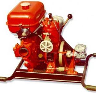 Мотопомпа пожарная МП-600,800,1600