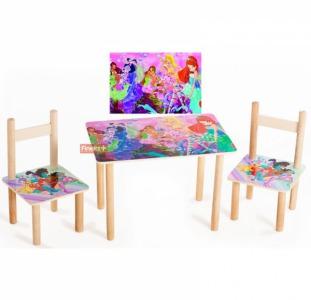 Разное Детский набор столик и стульчики Винкс
