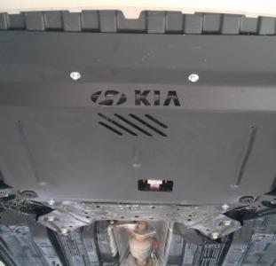 Защита картера двигателя Nissan Tiida