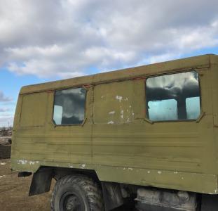 Кунг, демонтируемый с автомобиля Газ 66