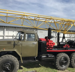 Буровая установка УРБ 2.5 А на базе Зила 131 дизель с инструментом