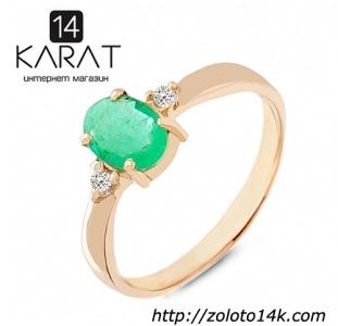 Золотые гвоздики с рубинами и бриллиантами 0,04 карат. НОВЫЕ (Код: 14844)
