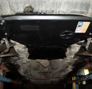 Защита картера двигателя Opel Astra