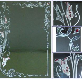 Художественные зеркала,   дизайнерские декоративные зеркала,   фьюзинг,   кристаллы Swarovski.