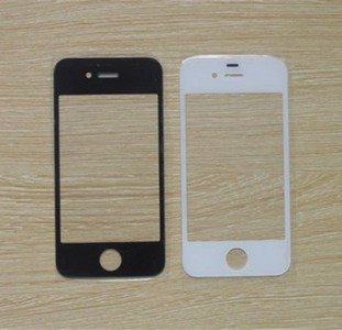 Стекло для Apple iPhone 4, iPhone 4S Original Black, Киев