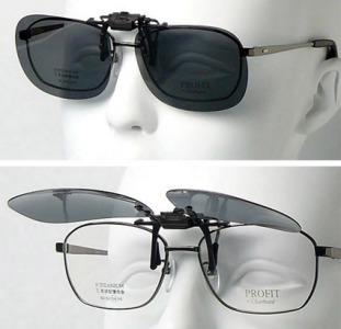 Накладки (клипоны) на очки с диоптриями