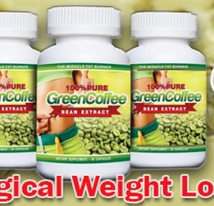Здоровье, красота Капсулы для похудения Зелёный Кофе