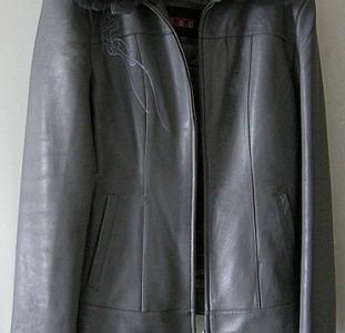 Кожанная женская куртка. Shandi. 3XL