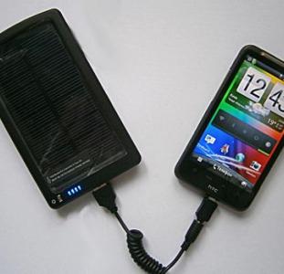 Универсальная мобильная батарея на солнечной энергии,  4000мАч