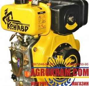 Дизельний двигун (одноцилиндровый  двигатель) ДВС – 300ДШЛЭ на мотоблок, трактор