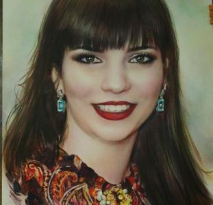 Заказать портрет  Нарисовать портрет по фото на заказ