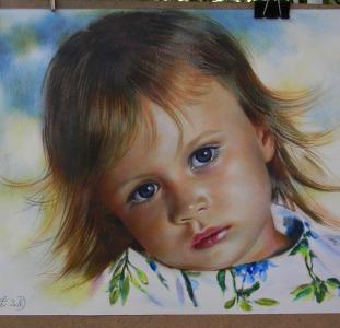 Нарисую портрет (по фото на заказ)