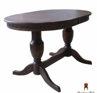 Стол обеденный раздвижной деревянный, Стол Амфора раскладной