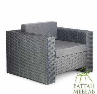 Купить мебель из искусственного ротанга, Кресло Хай-тек