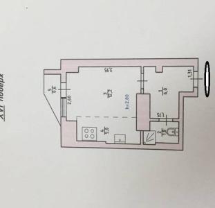 Продам 1-но комнатную квартиру в Новострое по ул. Маршала  Малиновского