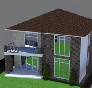 Продам новый современный дом в Золотой Горке.