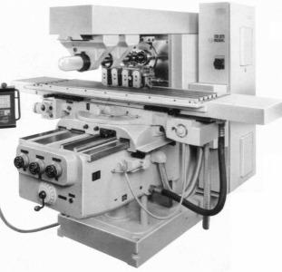 Горизонтальныя консольно-фрезерный станок FU450MR