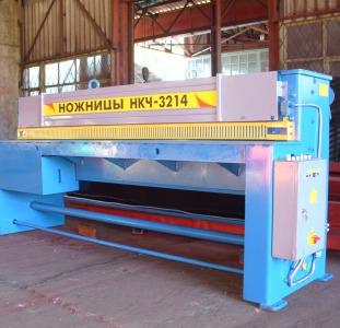 Гильотина 2,5х2500 мод. НКЧ 3214 производства Украина