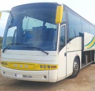 Перевозка пассажиров заказ автобуса 55 мест. Днепропетровск