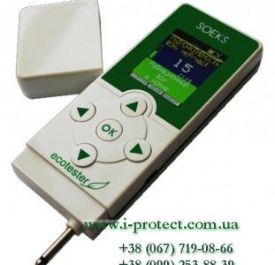 Прибор для определения радиации и нитратов Ekotester 2