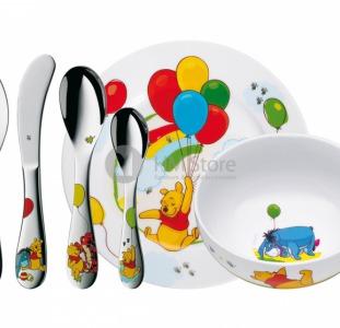 Дивная детская посуда коллекции Winnie The Pooh от «WMF»