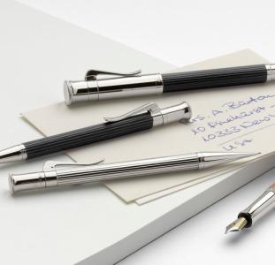 Перьевая ручка с иридиевым наконечником от «Graf von Faber-Castell»