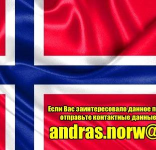 Работа в Норвегии. Уборка домов. Хорошие условия. Не посредники.