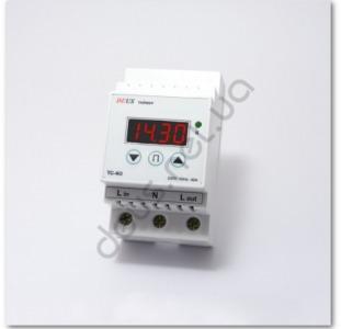Таймер суточный (реле времени) на DIN-рейку 40А(8.8кВт)