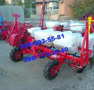 Сеялка СУПН-4 для мини трактора, новый