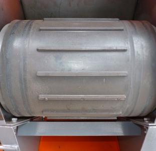 Зерномет ЗМ-80У з шевронною стрічкою.