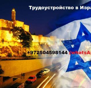 Трудоустройство в Израиле. Работа за кордоном.