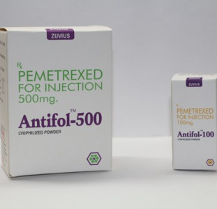 Antifol-500  (аналог Алимта, Alimta, Pemetrexated)  лечение рака легкого.