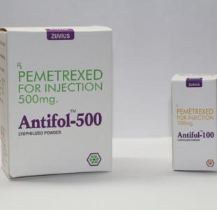Antifol-500  (аналог Алимта) для лечения рака легкого.