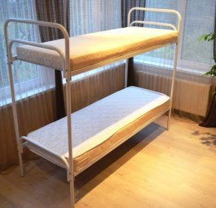 Ліжка металеві бюджетні. Недороге двоярусне ліжко.