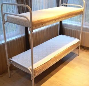 Кровати металлические недорого. Двухъярусные кровати.