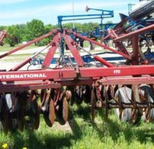 Дисковая борона CASE IH International  490 под трактор 200л.