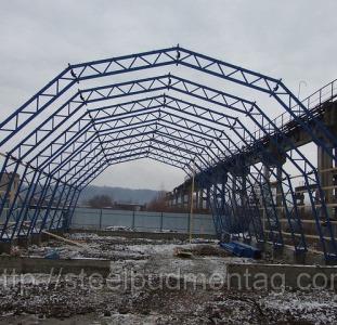 Послуги будівництва для АПК. Виготовлення металоконструкцій.
