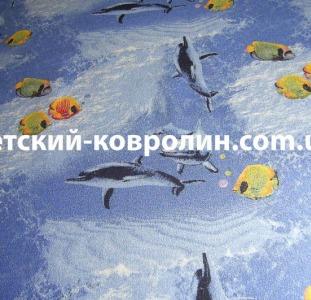 Ковры Детский коврик Океан. Детский ковролин.