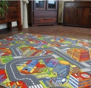 Дитячий килим Big City. Килими на підлогу.