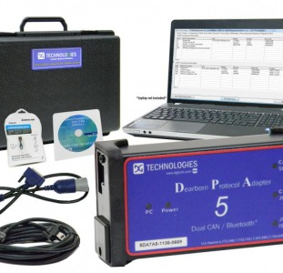 Дилерский сканер для диагностики легкового и грузового транспорта DPA5