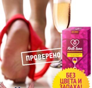 Женский возбудитель быстро и эффективно Forte Love +таблетка женской виагры в подарок